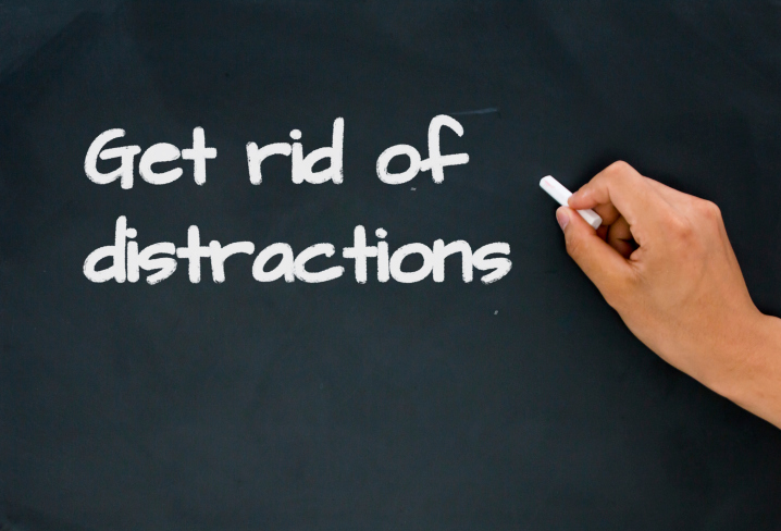 Get Rid Of Office Distractions
