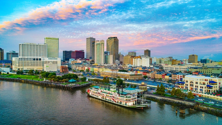 New Orleans Aerial View